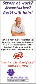 Reiki Ken's leaflet